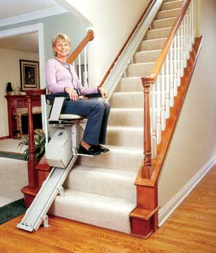Lift Chairs on Chair Lifts For Stairway Mobility